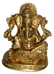 Eternal Antique Writing Ganesh