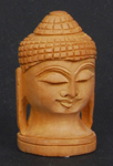 Cedar Meditating Budda Head