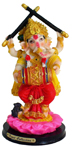 Enchanting Colorful Dandia Ganesh - Red