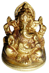 Eternal Antique Blessing Laddu Ganesh