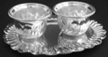 Silvery Twin Chandan Cup