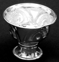 Silvery Small Chandan Cup