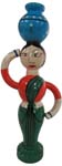 Activity Dolls - Lady Carrying Pot
