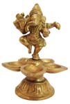 Dancing Ganesh Lamp