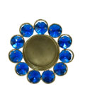 Lustre Tea light diya-blue