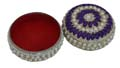 Lustre Beaded Sindhoor Box - Large