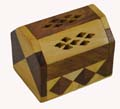 Wooden Puja Dhoop Holder