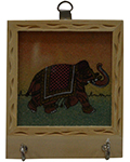 Riche Ochre Key Holder - Elephant