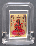 Captivating Divinity Gajalakshmi with arch