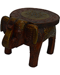 Wood Decor Elelphant Stool