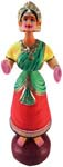 Indian Dancing Doll - No3 - Red