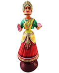 Indian Dancing Doll - No5 Big - Red