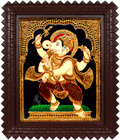 Bejeweled Dancing Ganesh