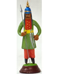 Miniature Clay Doll Palace Guard