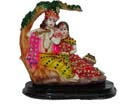 Enchanting Radha Krishna on Tree