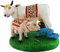 Krishna with Cow and Calf