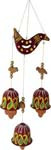 Earthen 3 Bells Ganesh Wind Chime