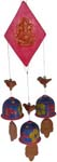 Earthen 3 Bells Wind Chime