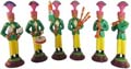 Band Set of 6 with Green Costumes