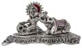 Silvery Butter Krishna Antique Finish
