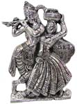 Radha Krishna Antique Finish
