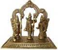 Silvery Ram Darbar Golden Antique Finish