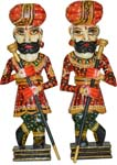 Woof Decor Rajasthani Gaurds Set ( Chowkidar )